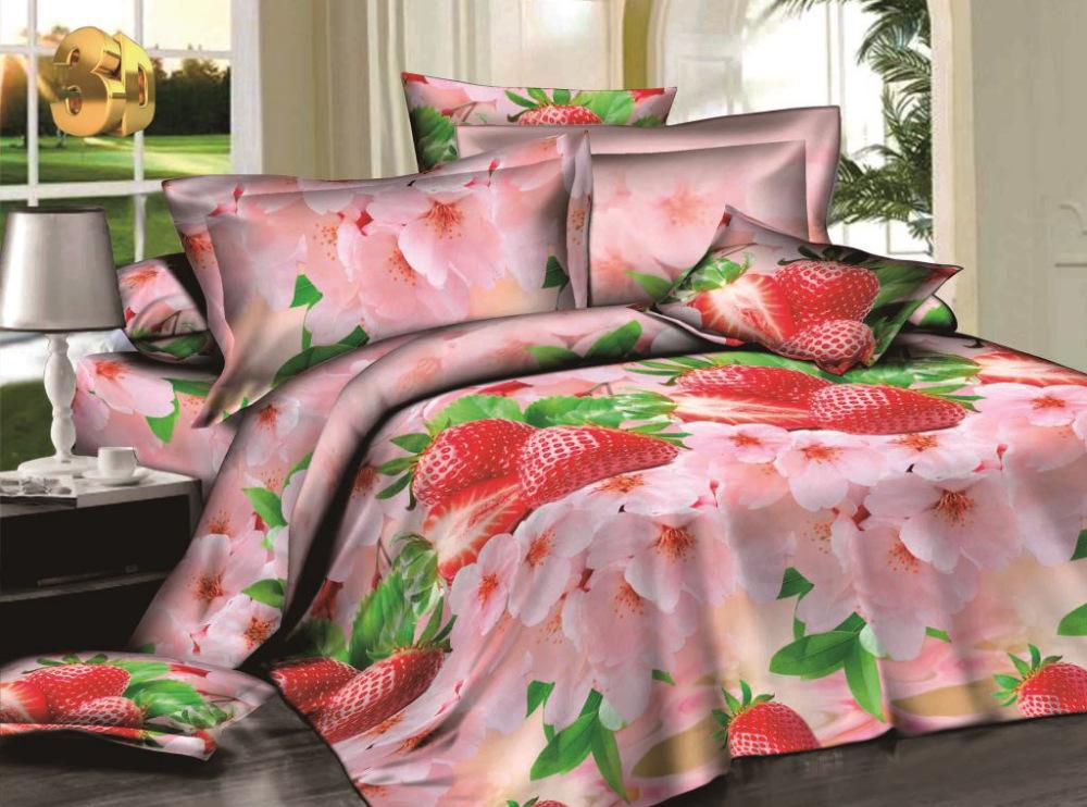 Постельное белье Летняя поляна 3D (сатин) (1,5 спальный) постельное белье diva afrodita premium 3d pr 027 двуспальное