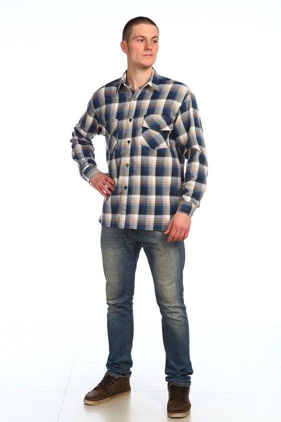 """Рубашка мужская """"Серж"""" 58"""