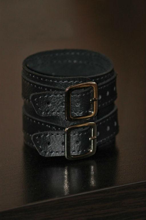 """Фото - Браслет кожаный на пряжках """"Билл"""" от Грандсток"""