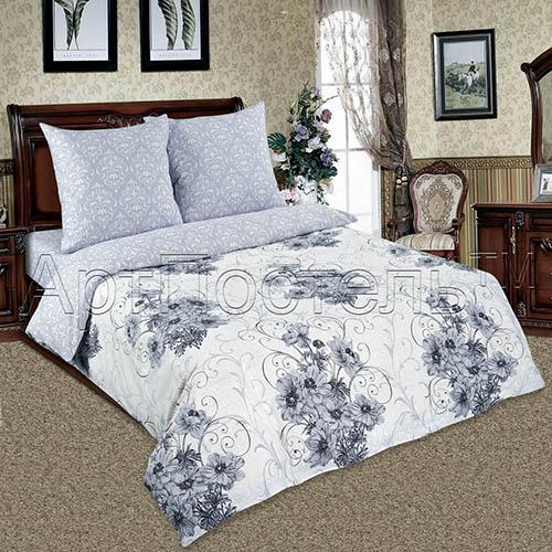 Постельное белье Лунная соната (поплин) (2 спальный) flora express лунная соната