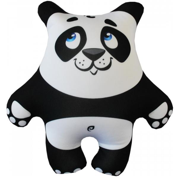 """Антистрессовая игрушка """"Панда белая"""" 27х26"""