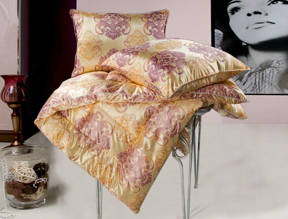 """Одеяло зимнее """"Традиция"""" (овечья шерсть, трикот) 1,5 спальный (140*205)"""