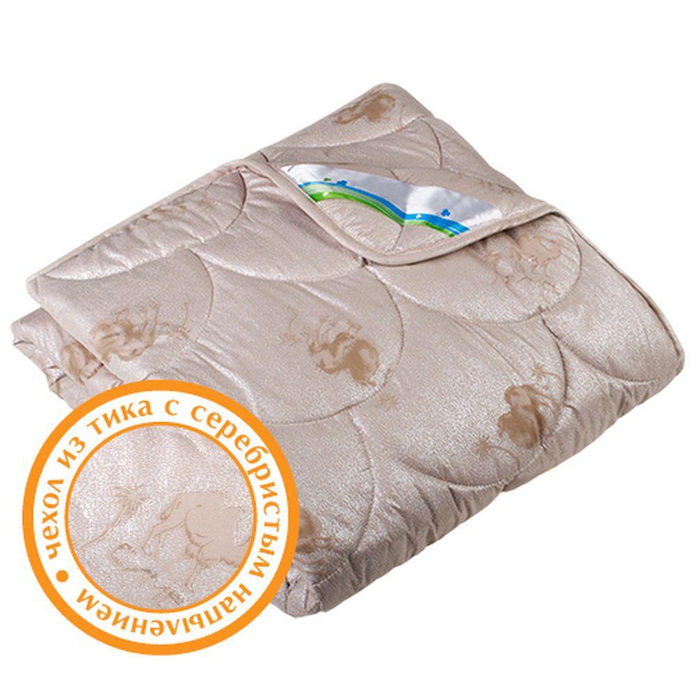 "Одеяло зимнее ""Стандарт"" (верблюжья шерсть, тик) Евро-1 (200*220)"