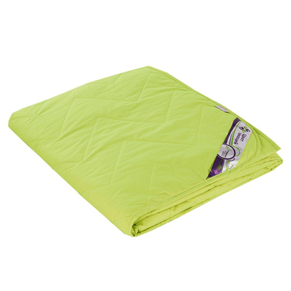"""Одеяло облегченное """"Лайм"""" (файберсофт, поплин) 2 спальный (172*205)"""