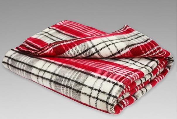 Одеяло полушерстяное Клеточка (1,5 спальный (140*205)) полушерстяное пальто