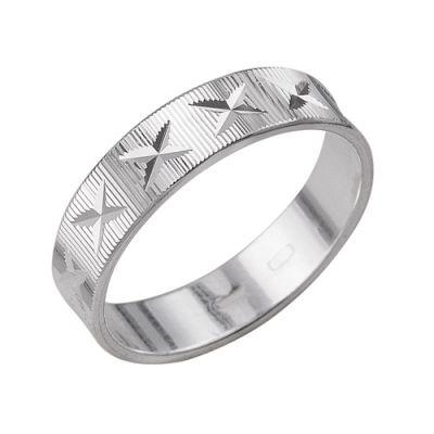 """Кольцо серебряное """"2301442б3"""""""