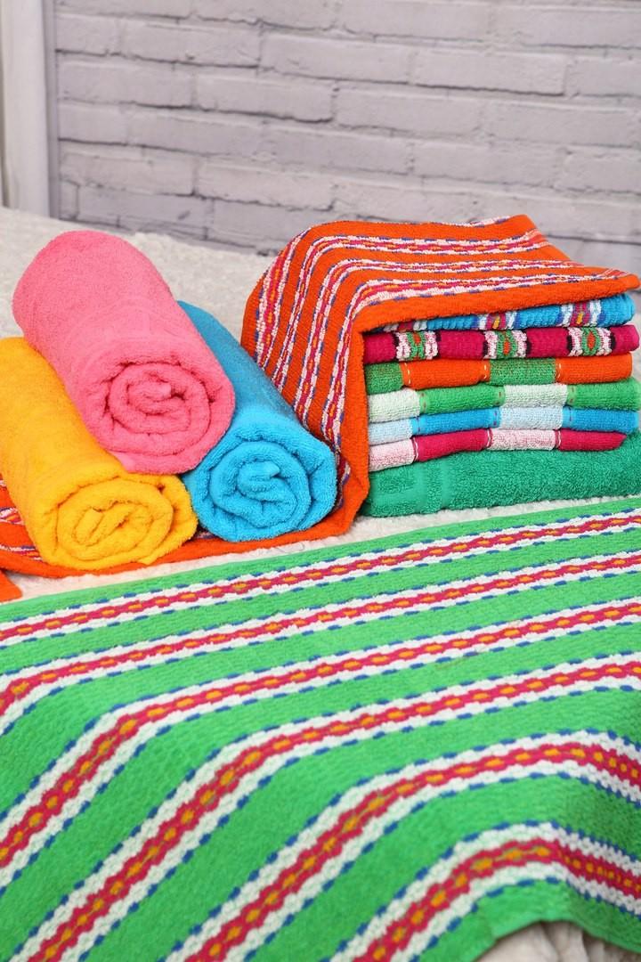 Полотенце Полоса (зеленое) (50х100) полотенце la villa de paris nadine 50х100 см кремовое
