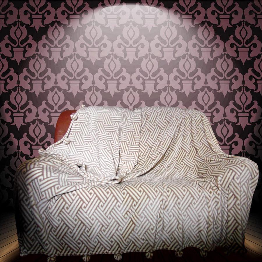 Покрывало с бамбошками Рим (велсофт) (150х210) покрывало luxberry покрывало velvet цвет темный шоколад 150х210 см