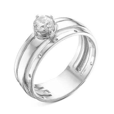 """Кольцо серебряное """"2388206Д"""" 17.5"""