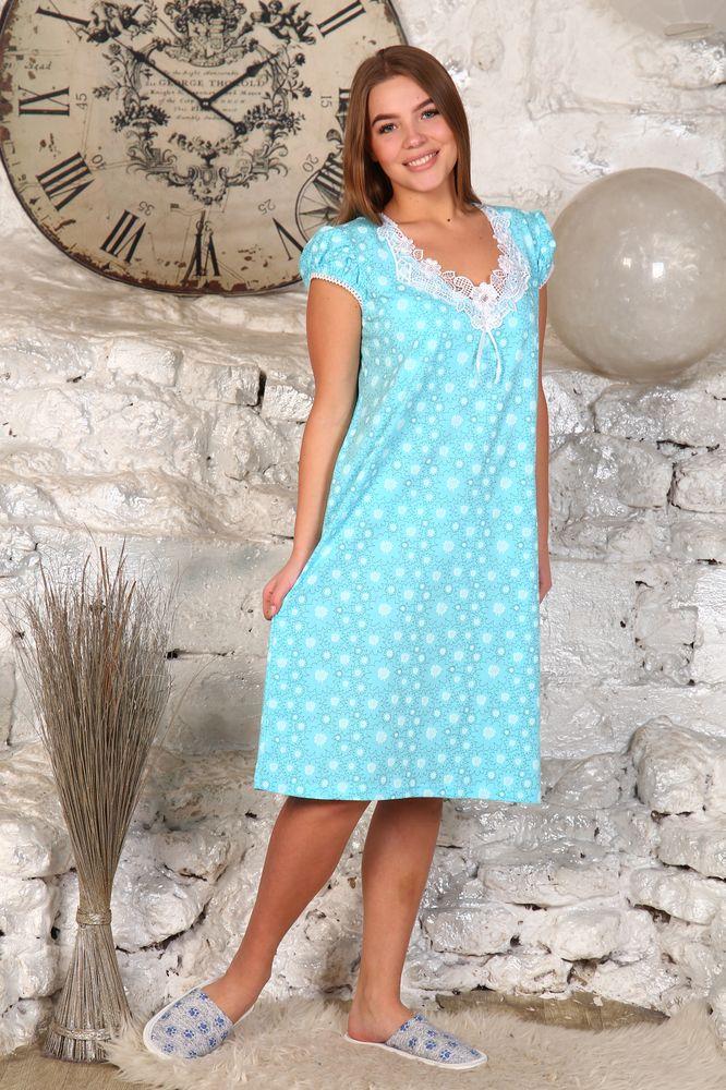 Ночная сорочка #Костнер# 46, Размер: 46 - Одежда для сна - Сорочки и ночные рубашки