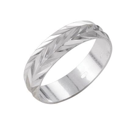 """Кольцо серебряное """"2301444б1"""" 17.5"""