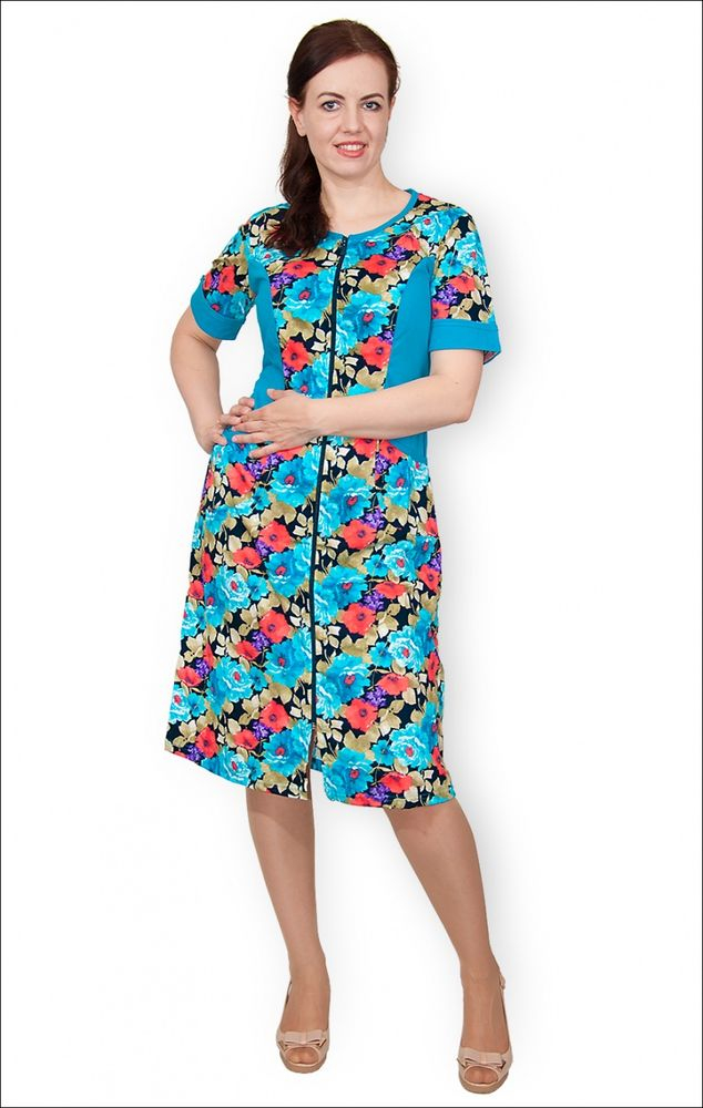 Халат женский #Кайя#, Размер: 60 - Халаты - Легкие халаты