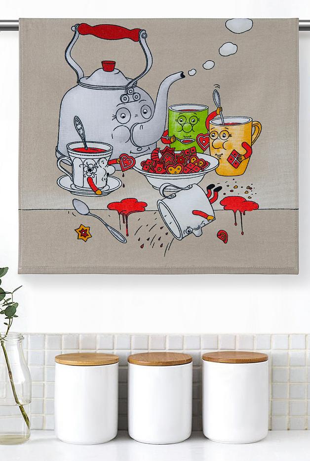 Полотенце кухонное iv63222 (50*50)