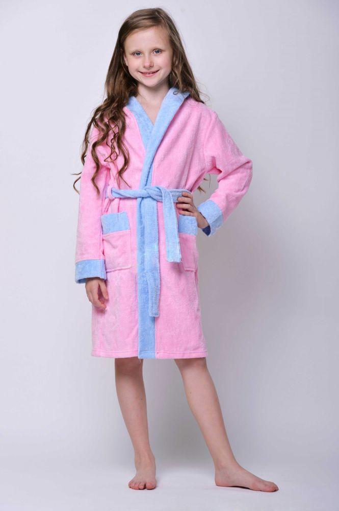 Халат детский велюровый Настенька халат велюровый линда голубой