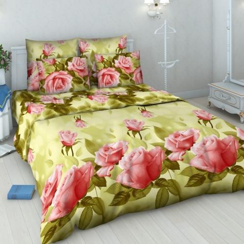 Постельное белье Нежная роза (бязь) (1,5 спальный) постельное белье примавера постельное белье нежная зелень 1 5 спал