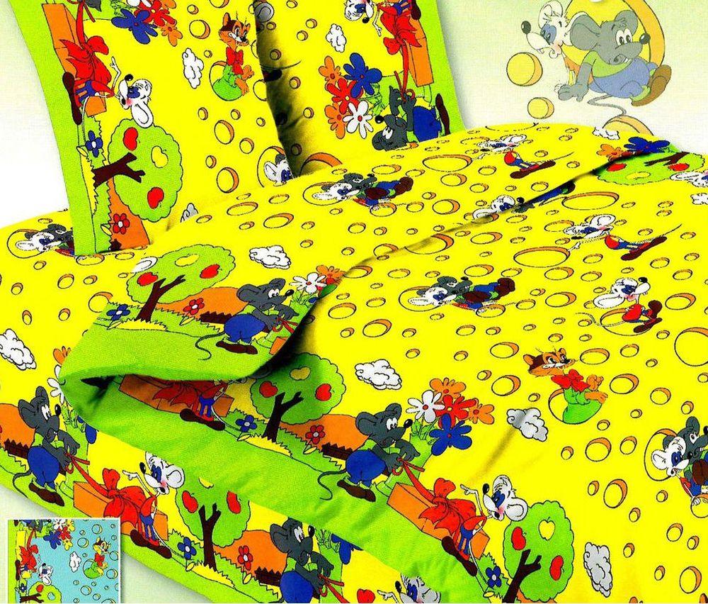 Постельное белье Леопольд и мыши (бязь) (Ясельный) постельное белье гномики бязь ясельный