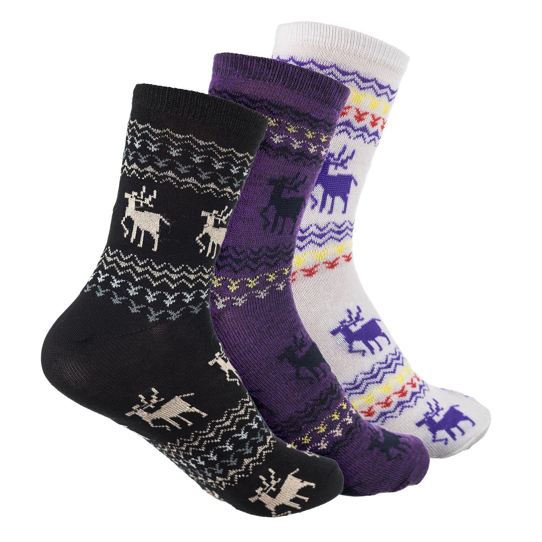 Носки женские Олени (упаковка 12 пар) (37-41) носки женские акцент упаковка 6 пар 23 25