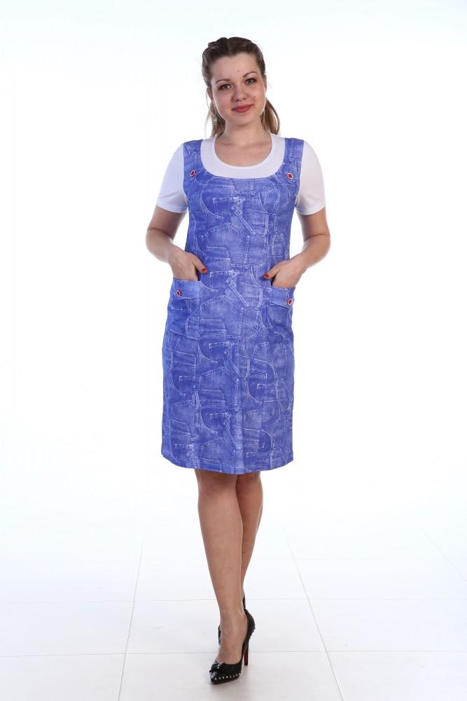 Сарафан женский Джинс (46)
