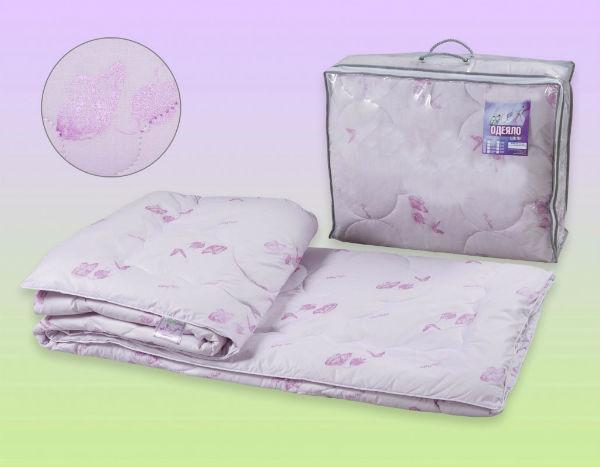 """Одеяло облегченное """"Италия"""" (шелк, перкаль) 1,5 спальный (140*205) от Grandstock"""