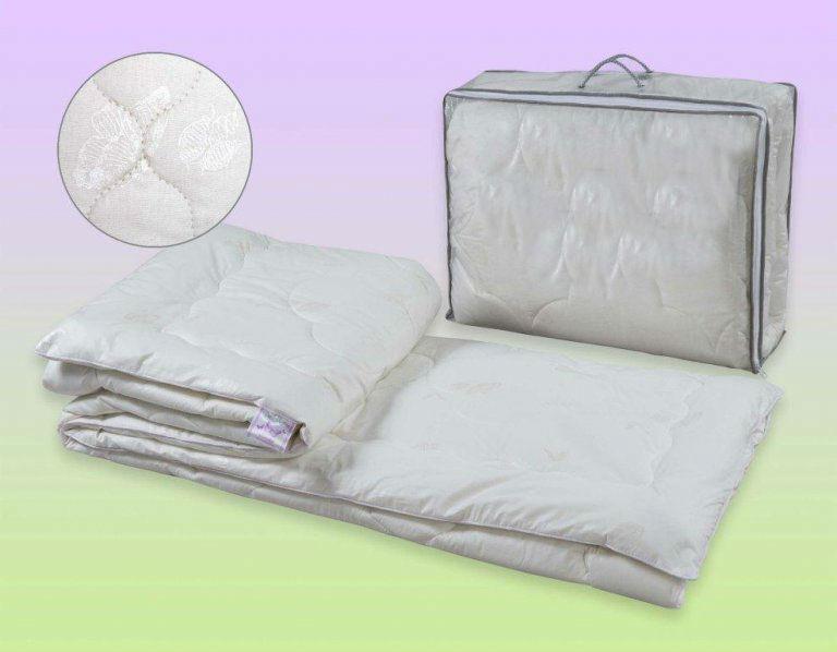 """Одеяло зимнее """"Аляска"""" (шелк, перкаль) 1,5 спальный (140*205) от Grandstock"""