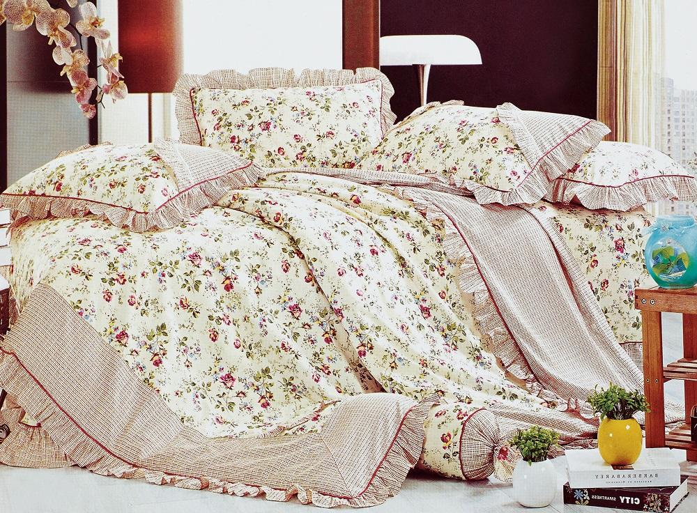 Постельное белье Грандесса (поплин) (1,5 спальный) постельное белье дельфины поплин 1 5 спальный