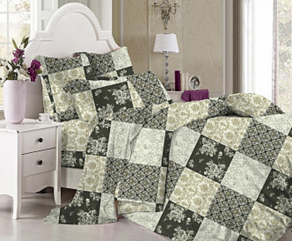 Постельное белье iv29545 (поплин) (1,5 спальный) постельное белье iv54872 поплин 1 5 спальный