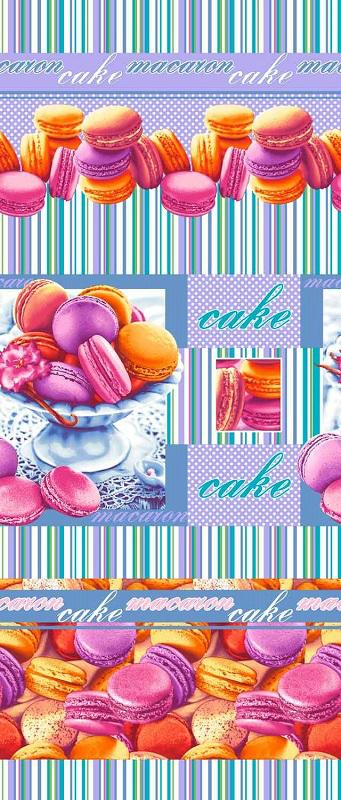 "Полотенце кухонное ""Сладкая жизнь"" (47х70) вафельное полотенце яркий вкус размер 47х70 см"