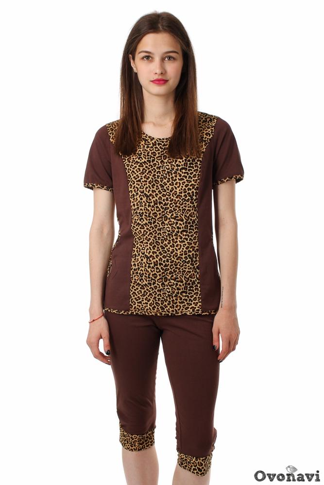 Костюм женский Тамара леопард