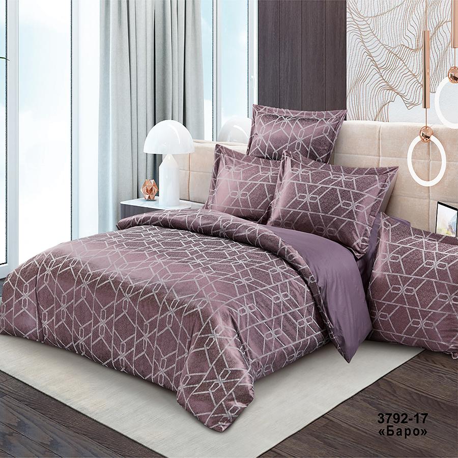 Фото - Постельное белье iv74690 (сатин-жаккард) (2 спальный с Евро простынёй) постельное белье iv69910 сатин жаккард 2 спальный с евро простынёй