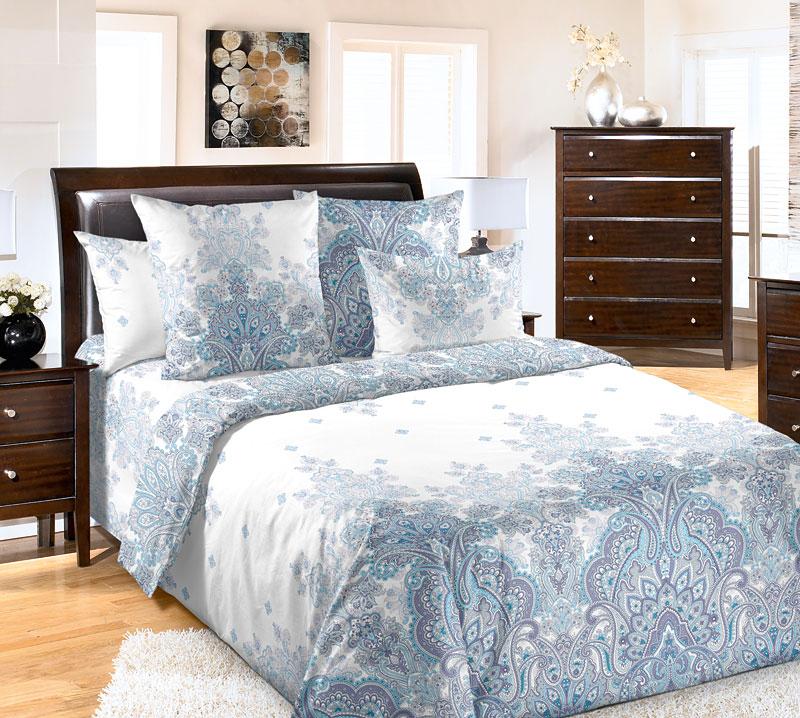 Постельное белье Изабелла (перкаль) (2 спальный с Евро простынёй) постельное белье альба перкаль 2 спальный