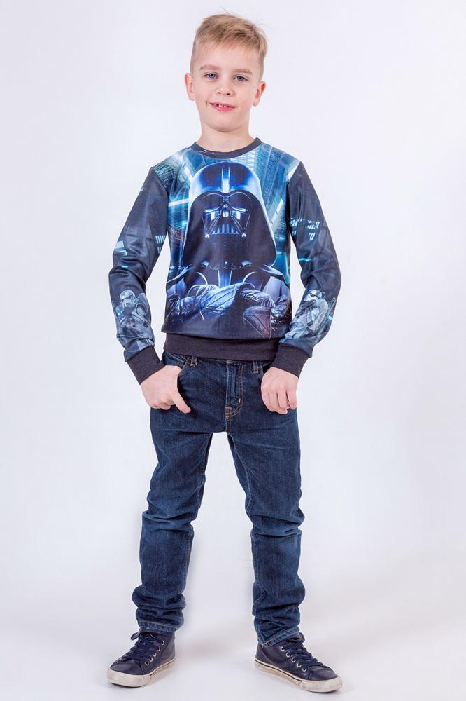 Свитшот детский Дарт Вейдер (36) детский костюм дарт мола 28 30