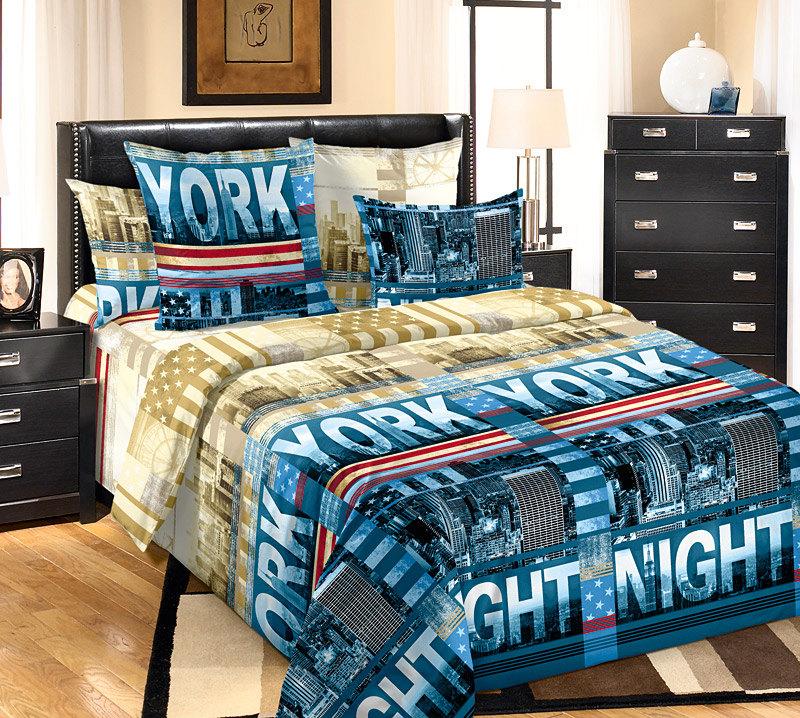 Постельное бельё Мегаполис (бязь) (2 спальный) постельное бельё