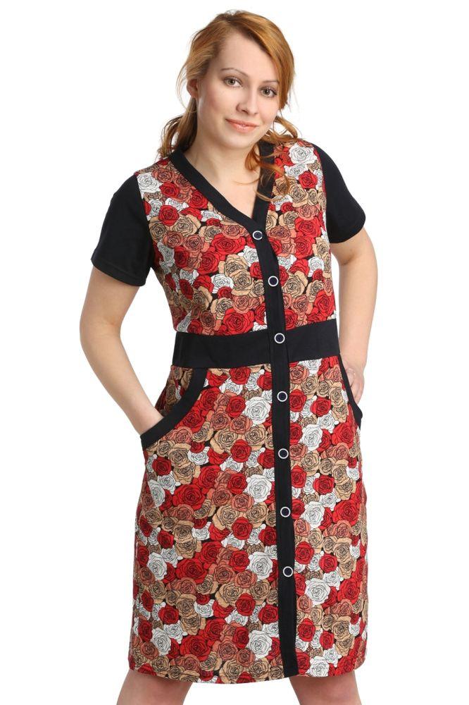 Халат женский #Кришен#, Размер: 56 - Халаты - Легкие халаты