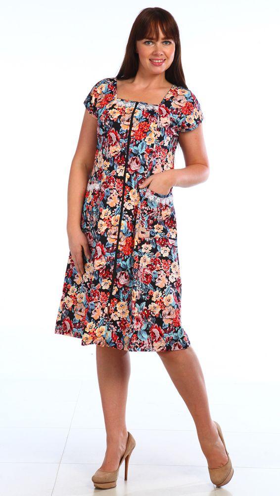 Халат женский #Полина# 54, Размер: 54 - Халаты - Легкие халаты