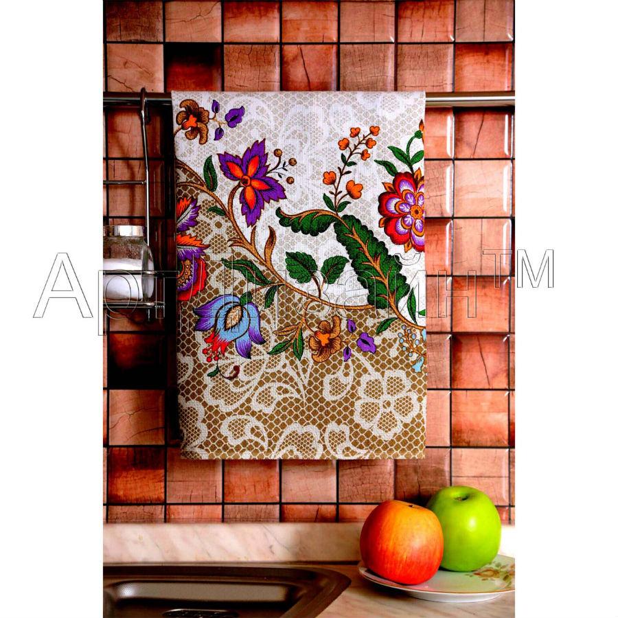 Кухонное полотенце Барокко (50х70) романтика кухонное полотенце розовый ноктюрн 50х70 см 2 шт