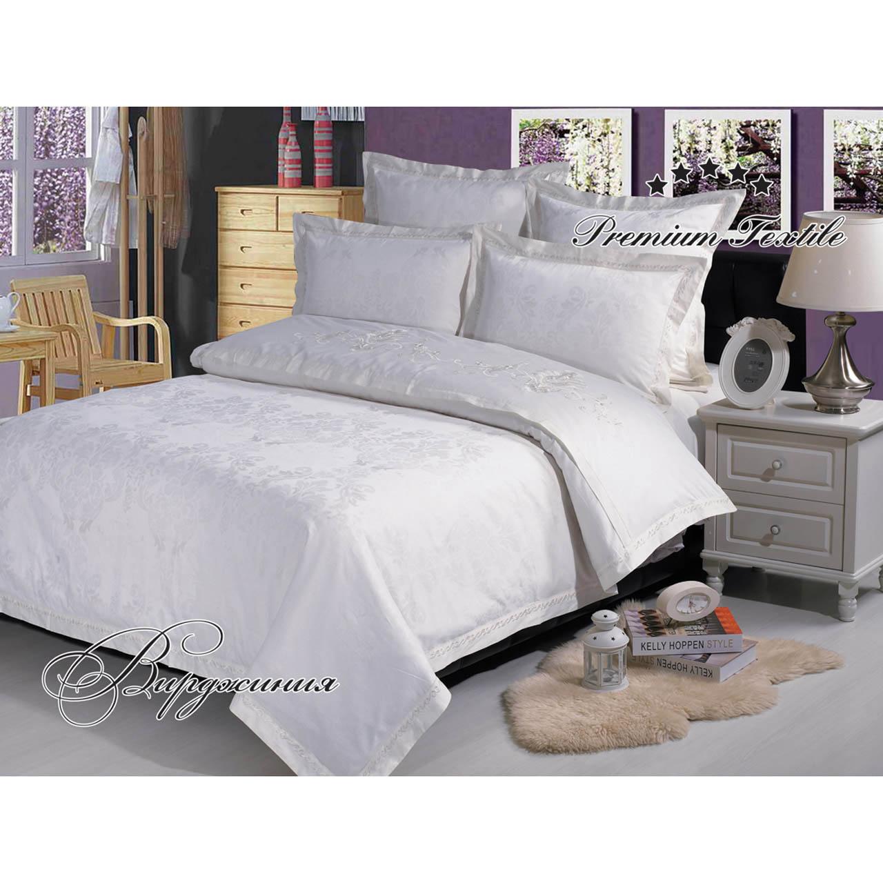 Постельное белье Вирджиния (сатин-жаккард) (2 спальный с Евро простынёй) постельное белье примавера постельное белье вирджиния 2 спал