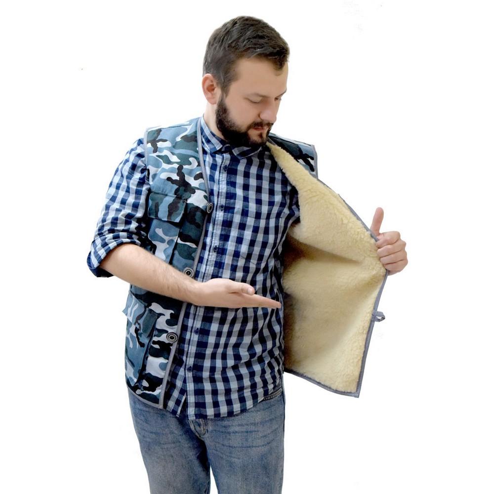 Купить Жилет мужской Камуфляж , Грандсток