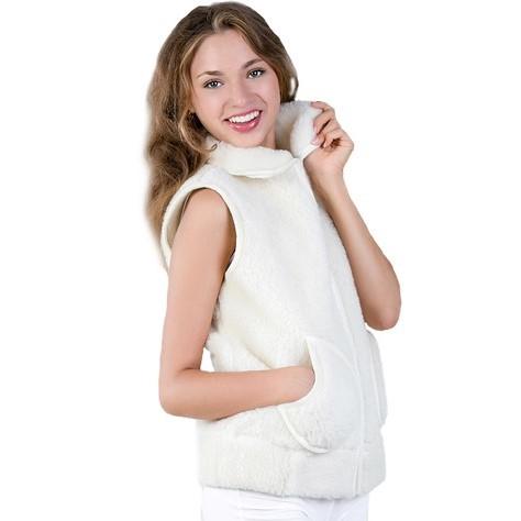 Жилет женский Модный из овечьего меха модный жилет для мужчин no fear