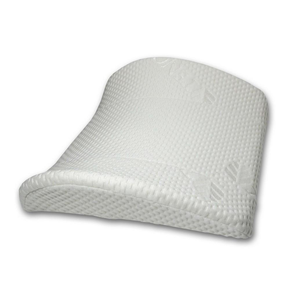 Подушка под поясницу с эффектом памяти Эталон (33*33) автомобильная подушка под поясницу car mats