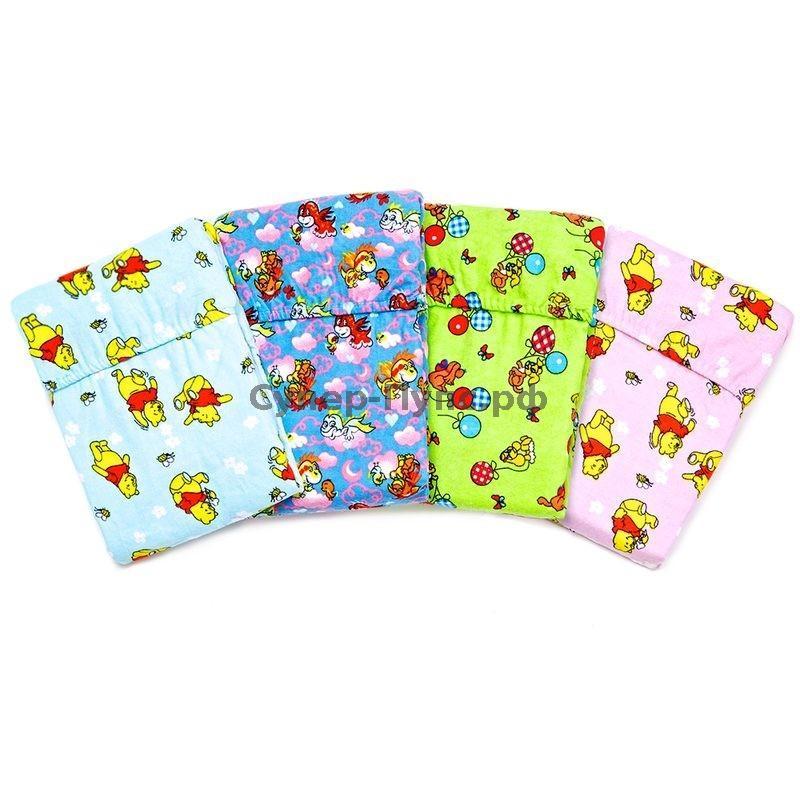"""все цены на Простыня детская на резинке в ассортименте """"Винни"""" (бязь) (90х150) онлайн"""
