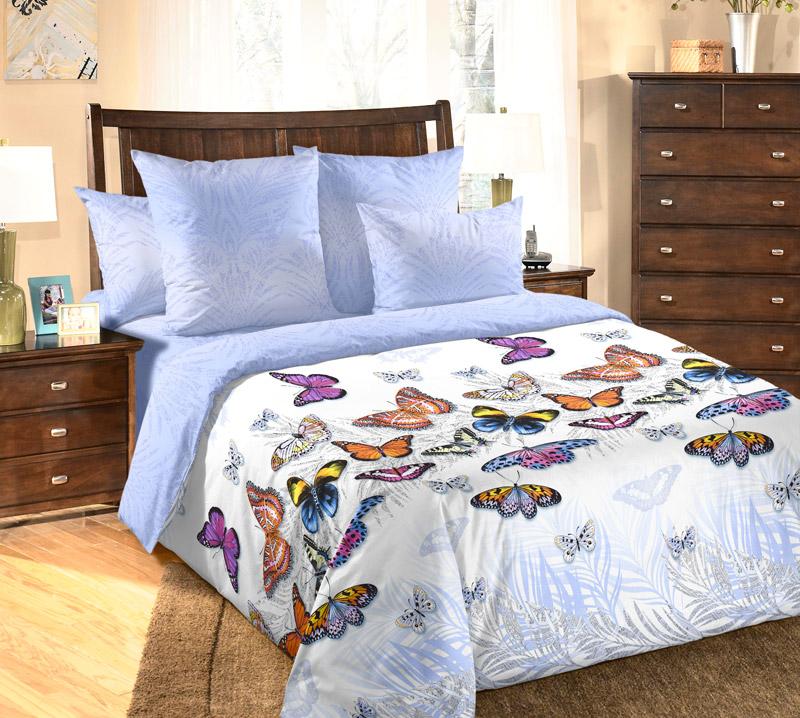 Фото - Постельное белье Галатея (перкаль) (1,5 спальный) постельное белье этель кружева комплект 2 спальный поплин 2670978
