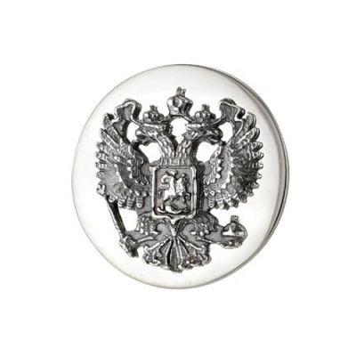 Значок серебряный