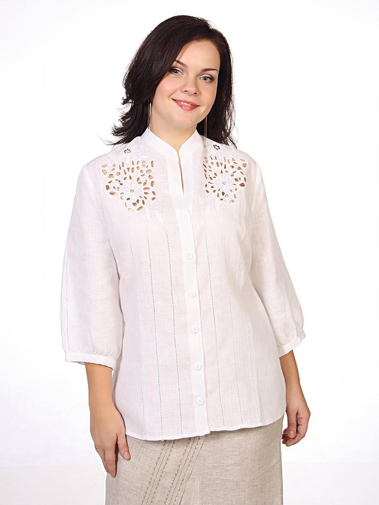 Блузка льняная iv3099