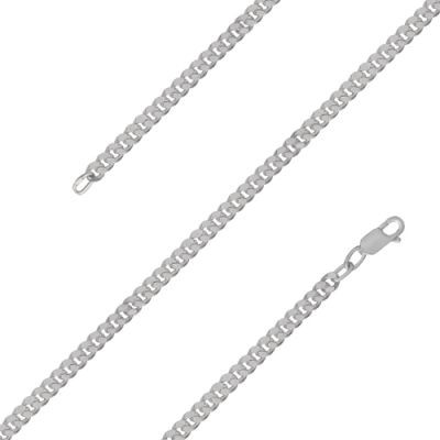 Цепочка бижутерия МПГ12 (серебрение)