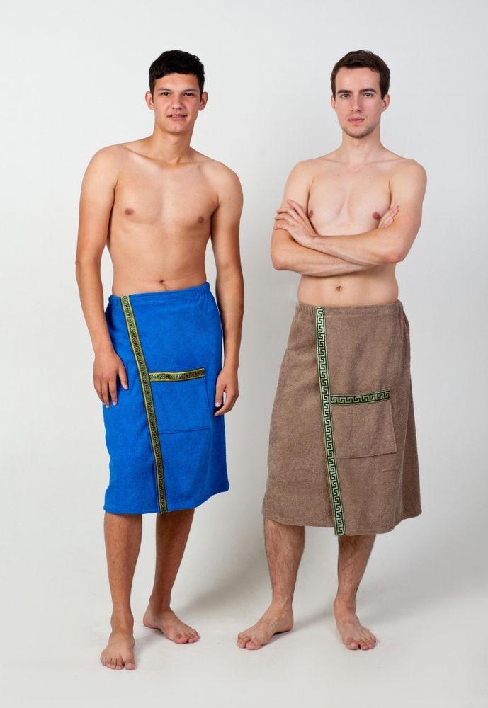 Полотенце-накидка махровая на липучке (мужская)
