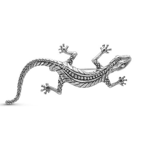 Брошь серебряная iv15483