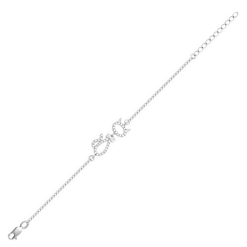 Браслет серебряный iv25061