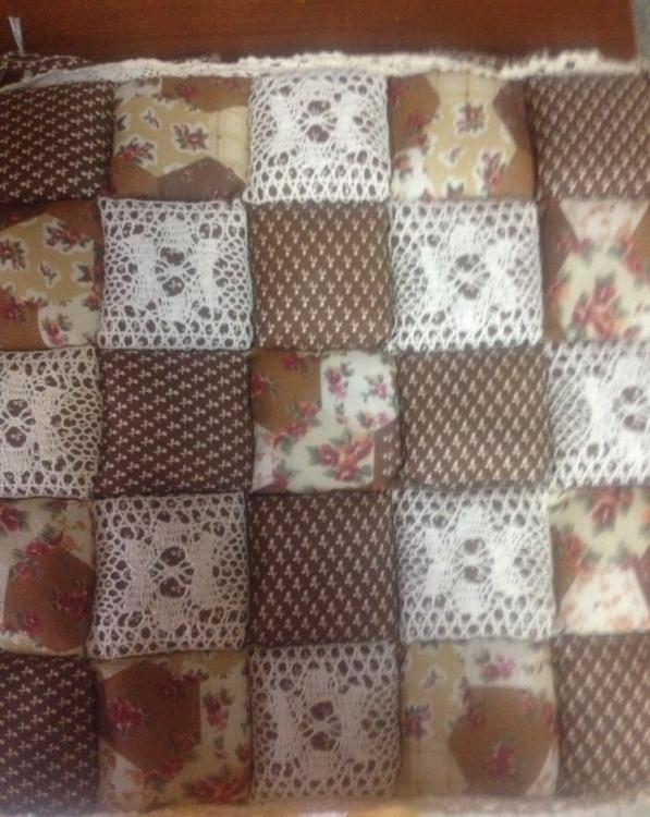 Подушка для стульев iv30038 (коричневый)