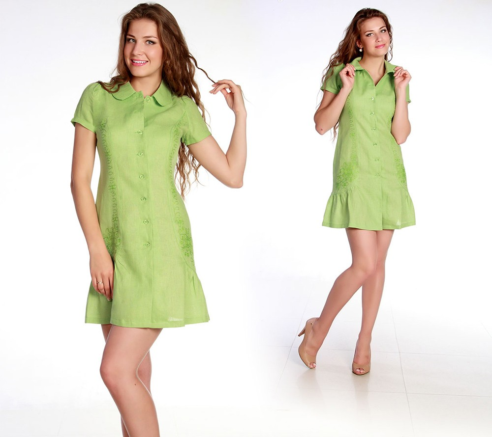 Купить Льняное платье Анастасия