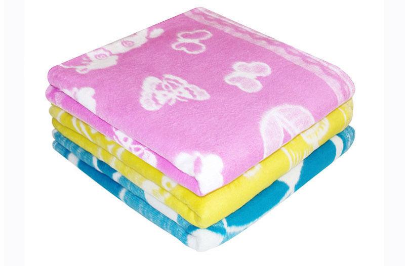 Одеяло байковое детское